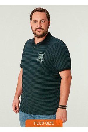 Wee Malwee Camisa Estampada Polo em Malha Listrada