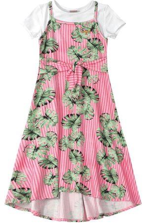 CARINHOSO Vestido Tropical Enjoy