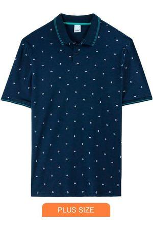 Wee Malwee Camisa Polo Geométrica em Piquê