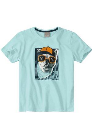CARINHOSO Camiseta Tradicional Bulldog Menino