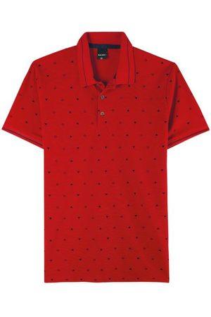 Malwee Camisa Polo Slim Geométrica
