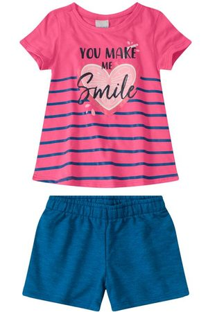 MALWEE KIDS Conjunto Smile em Moletom Sustentável Menin
