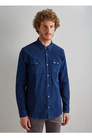 Reserva Camisa Regular Jeans Cotele