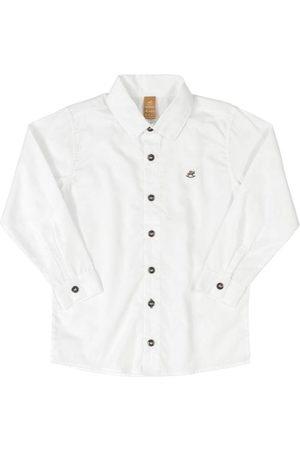 Up Baby Menino Camisa Manga Comprida - Camisa Manga Longa em Tecido