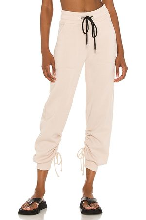 THE RANGE Cinched Sweatpants in Nude. - size L (also in M, S, XS)