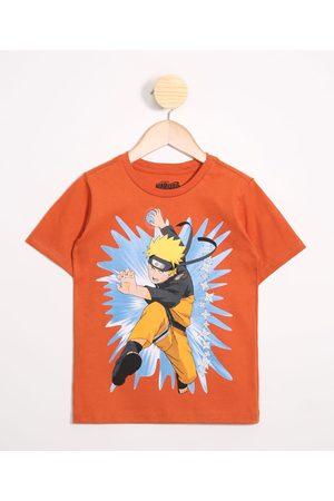 Naruto Camiseta Infantil Manga Curta