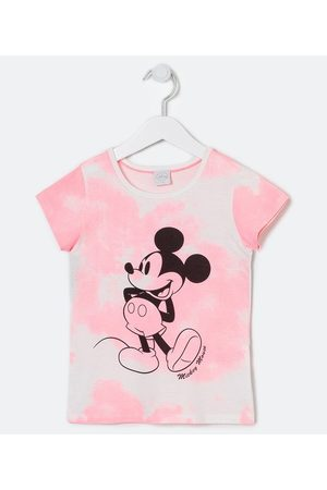 Mickey Mouse Blusa Infantil Tie Dye Estampa Mickey - Tam 5 a 14 anos | | Multicores | 9-10