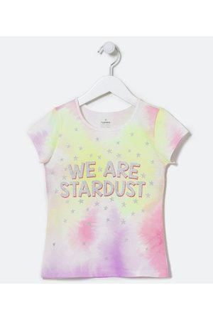 "Fuzarka Criança Blusa - Blusa Infantil Tie Dye ""We Are Stardust"" - Tam 5 a 14 anos | | Multicores | 13-14"