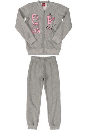 Bee Loop Menina Moletom Completo - Conjunto Infantil Moletom Fashion