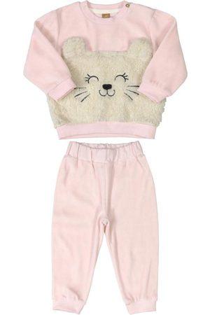 Up Baby Conjunto Blusão e Calça em Plush