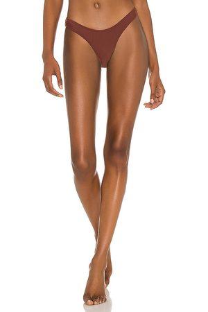 Minimale Animale Wall Street Brief Bikini Bottom in Brown. - size L (also in M, S, XS)