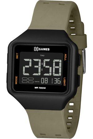 X-Games Homem Relógios - Relógio Analógico Orient Masculino - XGPPD153 PXEX PRETO