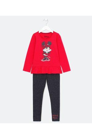 Minnie Conjunto Infantil em Minnie - Tam 1 a 6 anos       01