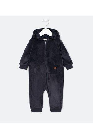 Teddy Boom (0 a 18 meses) Criança Macacão - Macacão Infantil em Plush Capuz com Barbatanas de Dino - Tam 0 a 18 meses | | | 0-3M