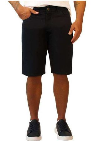 Sandro Moscoloni Homem Bermuda - Bermuda Jeans Masculina Basic Pre