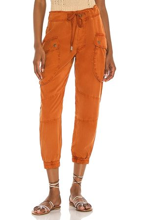 YFB CLOTHING Clyde Cargo Pant in Rust. - size L (also in M, S, XS)