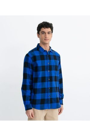 Ripping Homem Camisa Manga Comprida - Camisa Xadrez Manga Longa | | | M