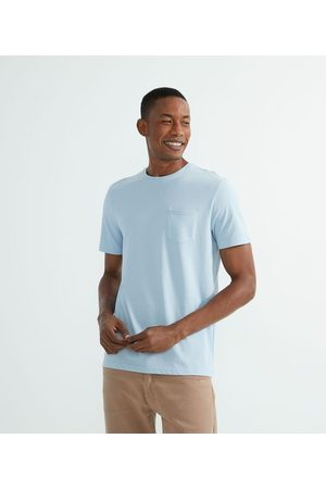 Marfinno Homem Camisolas de Manga Curta - Camiseta Manga Curta Lisa com Bolso Frontal       EG I
