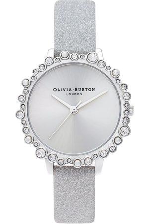 Vivara Mulher Relógios - Relógio Olivia Burton Feminino Couro Cinza - OB16US52
