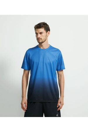 Get Over Homem Camisolas de Manga Curta - Camiseta Esportiva com Manga Curta e Estampa nas Laterais       M