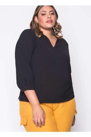 Melonica Mulher Blusa - Blusa Almaria Plus Size Ampla