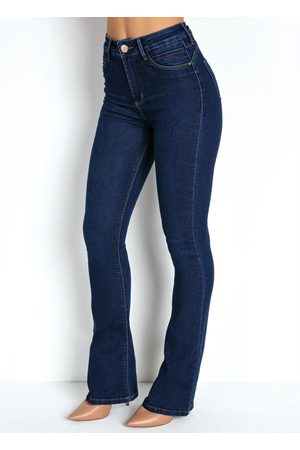 Sawary Jeans Calça Jeans Flare 360º com Cinta Sawary