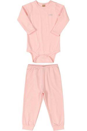 Up Baby Menina Pijamas - Pijama Térmico para Bebê Claro