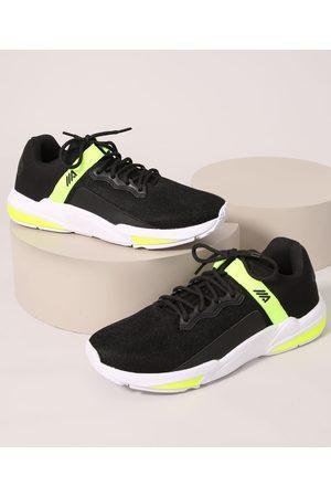 ACE Homem Sapatos Esporte - Tênis Masculino Esportivo com Recorte