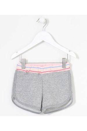 Póim (1 a 5 anos) Short Infantil com Listras na Cintura - Tam 1 a 5 anos       01
