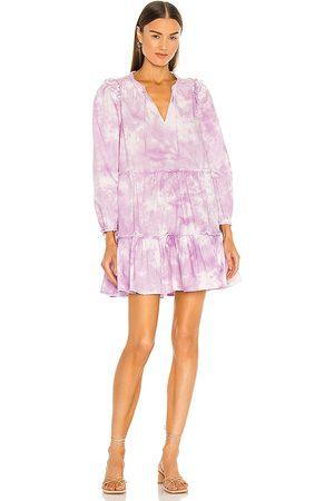 Generation Love Rumi Tie Dye Dress in Lavender. - size L (also in M, S, XS)