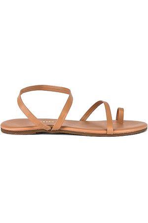 Tkees Mia Napa Sandal in Tan. - size 10 (also in 6, 7, 8, 9)