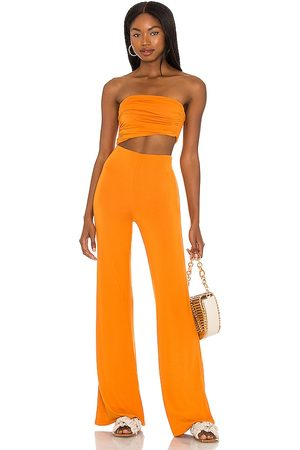 House of Harlow 1960 X Sofia Richie Sosa Jumpsuit in Burnt Orange. - size L (also in M, S, XL)