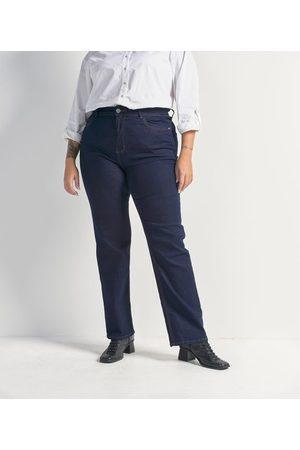 Ashua Curve e Plus Size Calça Reta Jeans Sem Estampa Curve & Plus Size | | | 50