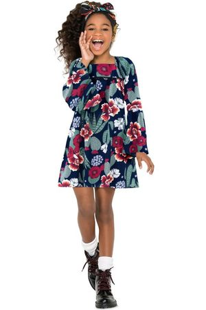 Nanai Menina Vestidos - Vestido Infantil Marinho