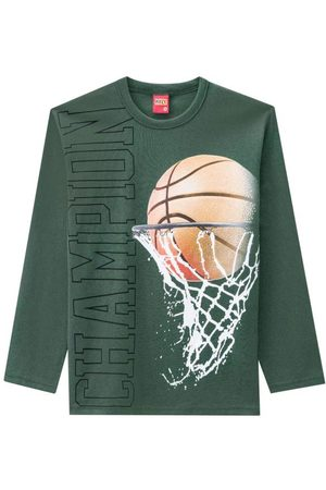 KYLY Menino Camisolas de Manga Curta - Camiseta Infantil Masculina