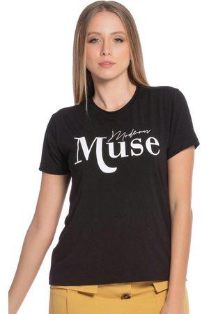 Up Close Mulher Camiseta - T-Shirt Feminina com Estampa