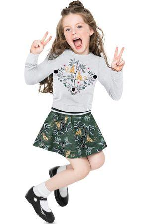 Nanai Conjunto Infantil Feminino Mescla