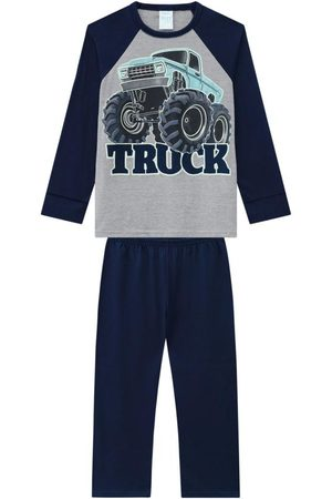 KYLY Pijama Infantil Masculino Marinho