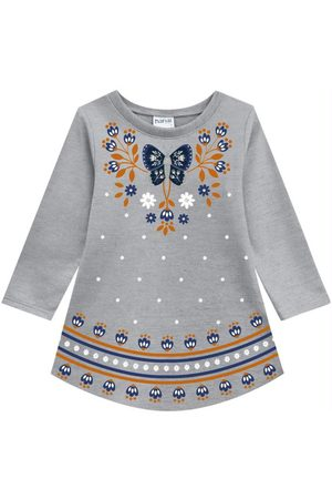 Nanai Vestido Infantil Mescla