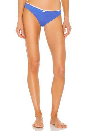 Solid X REVOLVE Daphne Bikini Bottom in Blue. - size L (also in M, S, XS)