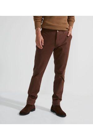 Preston Field Calça Sarja Slim com Textura | | | 38