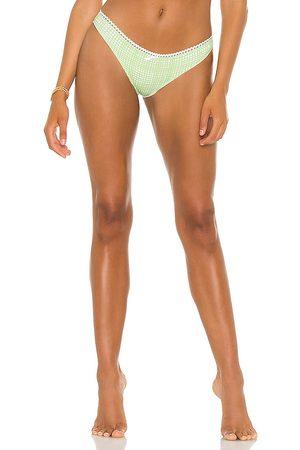 Solid & Striped Daphne Bikini Bottom in Green. - size L (also in M, S, XS)