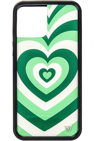 Wildflower IPhone 12 Pro Max Case in Green.