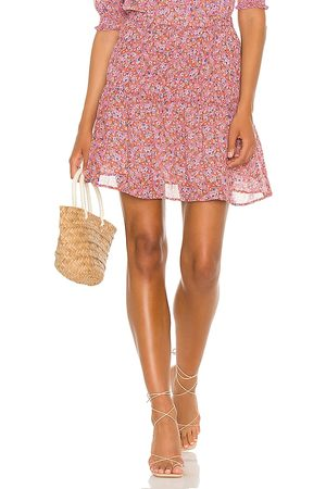 Sanctuary Sweeter Mini Skirt in Rust,Pink. - size L (also in M, S, XS)