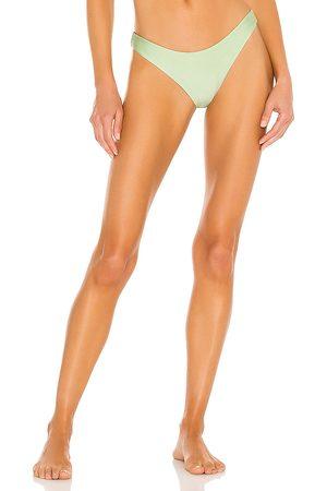 JADE SWIM Most Wanted Bikini Bottom in Green. - size L (also in M, S, XS)