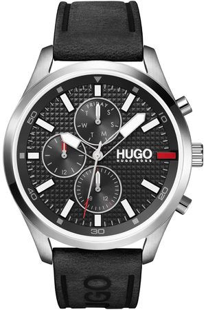 Vivara Homem Relógios - Relógio Hugo Boss Masculino Couro Preto - 1530161
