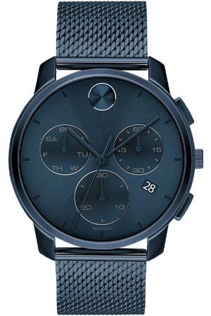 Vivara Homem Relógios - Relógio Movado Masculino Aço Azul - 3600633