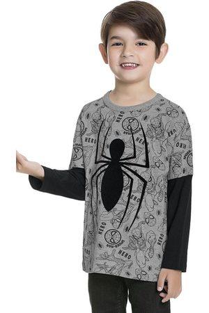 Homem Aranha Camiseta Manga Longa