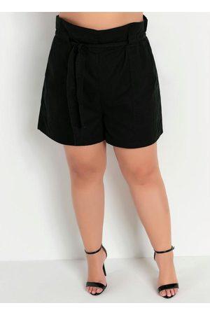 Marguerite Short Clochard com Faixa Plus Size