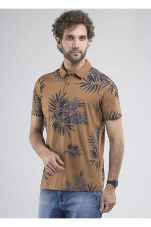 Svk Confort Homem Camisa Formal - Camisa Polo Palm Trees Caramelo